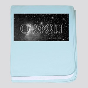 Orionss Belt T-Shirt baby blanket