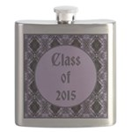 Class of 2015 Lilac Flask