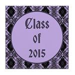 Class of 2015 Lilac Tile Coaster