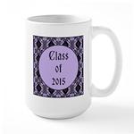 Class of 2015 Lilac Large Mug