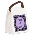 Class of 2015 Lilac Canvas Lunch Bag