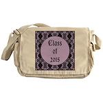Class of 2015 Lilac Messenger Bag