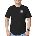 Class of 2015 Lilac Men's Fitted T-Shirt (dark)