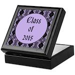 Class of 2015 Lilac Keepsake Box