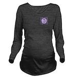 Class of 2015 Lilac Long Sleeve Maternity T-Shirt