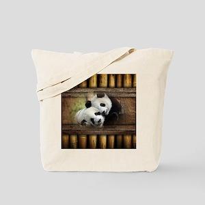 Panda Bear Love Tote Bag