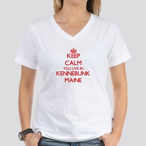 Keep calm you live in Kennebunk Maine T-Shirt