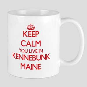 Keep calm you live in Kennebunk Maine Mugs