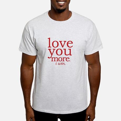 Love You More Men's Classic T-Shirt