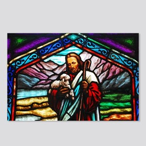 Stained glass image of Je Postcards (Package of 8)