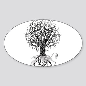 Celtic Tree Horse Sticker