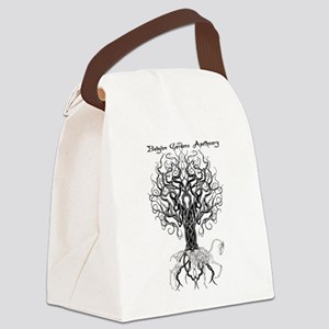 Celtic Tree Horse Canvas Lunch Bag