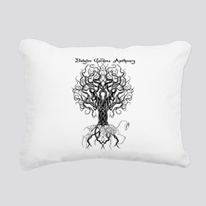 Celtic Tree Horse Rectangular Canvas Pillow