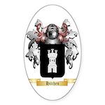 Hitchen Sticker (Oval 50 pk)