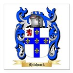 Hitchcock Square Car Magnet 3