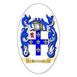 Hitchcock Sticker (Oval 50 pk)