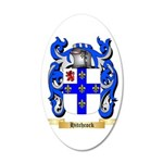Hitchcock 20x12 Oval Wall Decal