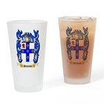 Hitchcock Drinking Glass