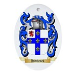 Hitchcock Ornament (Oval)