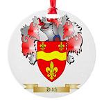 Hitch Round Ornament