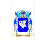 Hischenboim Sticker (Rectangle 50 pk)