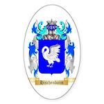 Hischenboim Sticker (Oval 10 pk)