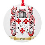 Hirst Round Ornament