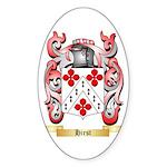 Hirst Sticker (Oval)