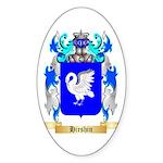 Hirshin Sticker (Oval 50 pk)