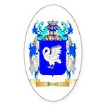 Hirsh Sticker (Oval 50 pk)