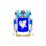 Hirschstein Sticker (Rectangle 50 pk)