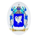 Hirschstein Ornament (Oval)