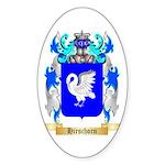 Hirschorn Sticker (Oval 10 pk)