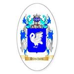 Hirschorn Sticker (Oval 50 pk)