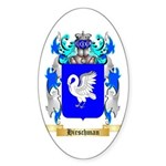 Hirschman Sticker (Oval 50 pk)