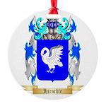 Hirschle Round Ornament