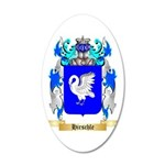 Hirschle 35x21 Oval Wall Decal