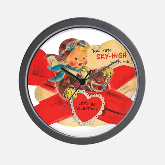 You rate sky-high with me! Wall Clock