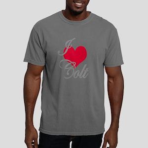 I love (heart) Colt Mens Comfort Colors Shirt