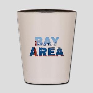 Bay Area Golden Gate Bridge 08 Shot Glass