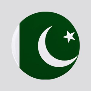 "Pakistani flag 3.5"" Button"