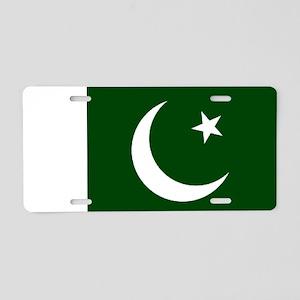 Pakistani flag Aluminum License Plate