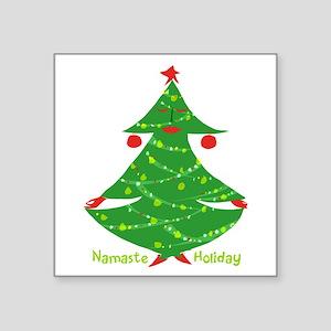 Namaste Holiday Sticker