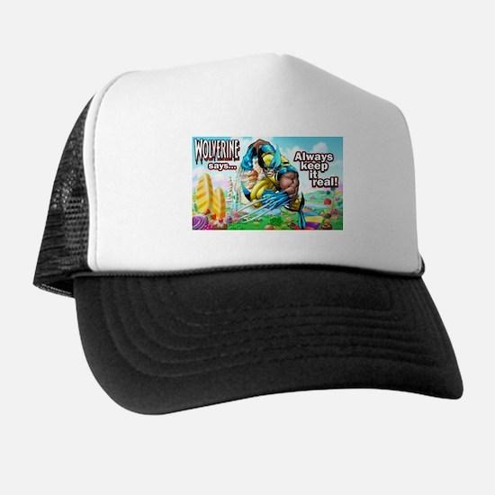 Wolverine In Candyland 001 Trucker Hat