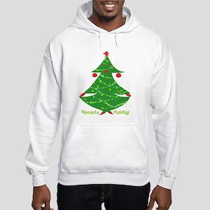 Namaste Holiday Hooded Sweatshirt