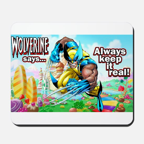 Wolverine In Candyland 001 Mousepad