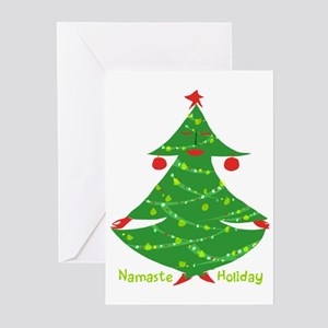 Namaste Holiday Greeting Cards
