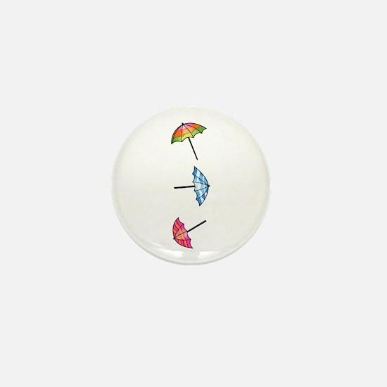 Umbrellas Mini Button