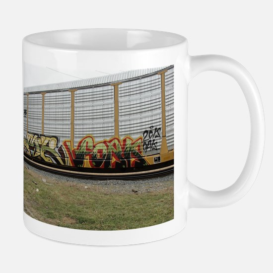 Train Graffiti Mugs