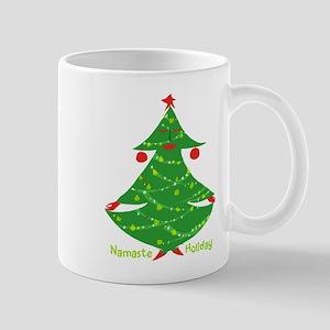 Namaste Holiday Mugs